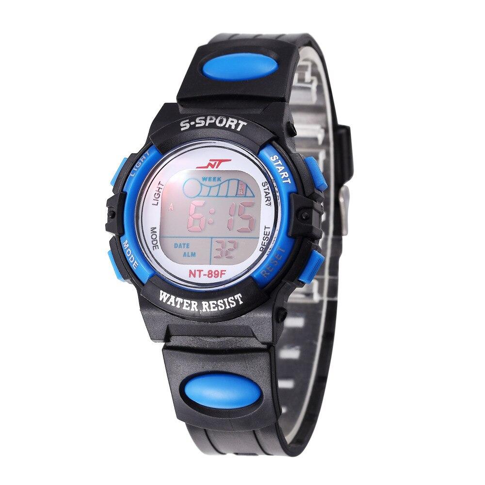 Children Watch Sports font b Electronic b font Digital LED Watch Boy Watch LED Digital Wrist