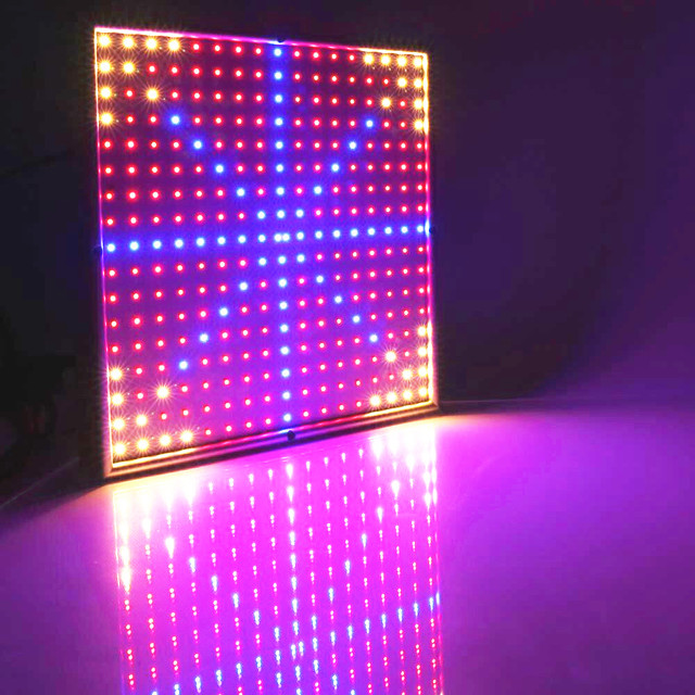 Full Spectrum 290 LED Grow Lights 30W 200Red:36Yellow:54Blue SMD3528 LED  Plant Lamp Amazing Design