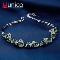 Ethnic style s925 sterling silver bracelet Women's vintage zircon bracelet ladies fashion personalized jewelry silver jewelry.