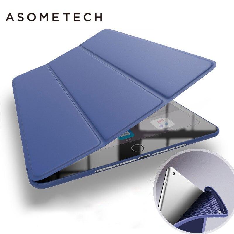 Funda delgada Utra para ipad Air 1 2 Smart Retro Series de funda protectora para ipad Air 2 Air 1 funda con Protector de pantalla para regalos