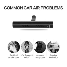 Car Air Freshener, Solid Air Purifier, 3 Scents Bars Natural Aroma for Vehicle Air Quality