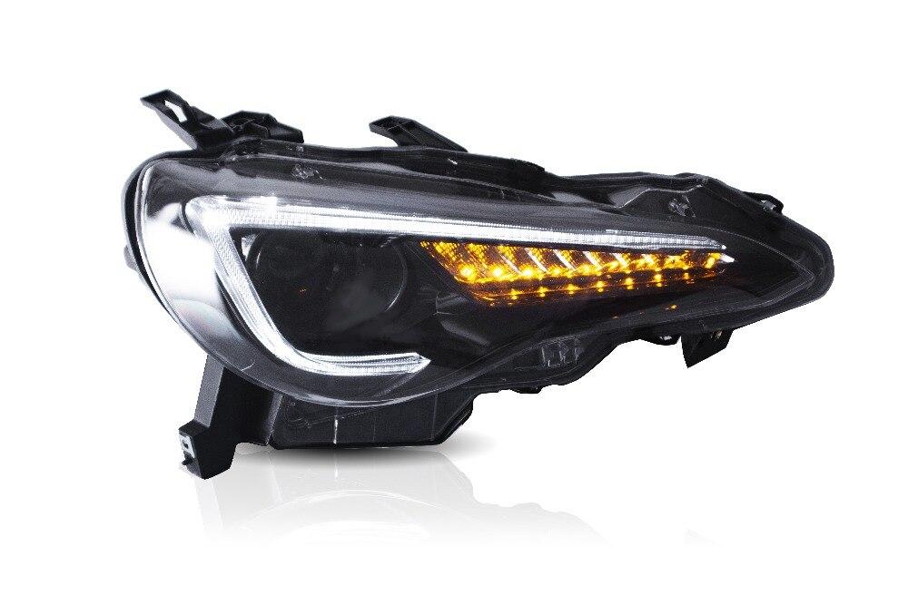 Vland автомобильный Стайлинг светодиодные фары для Toyota FT 86 & GT 86 2012 UP Head lamp для SUBUARU BRZ 2013 UP Head lights/налобный фонарь