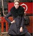 Summer Latest Women Winter Down jacket Heavy hair collar Big yards Medium long Coat Thickening Authentic Super Warm Coat G1817