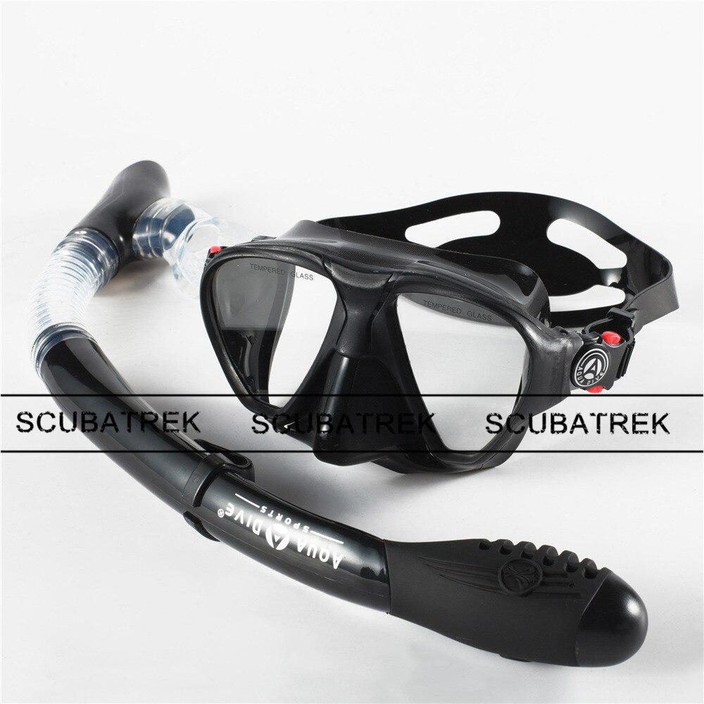 Masque de plongée + équipement de plongée