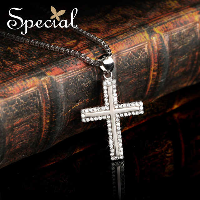 Special New Vintage 925 Sterling Silver Necklaces amp& Pendants Cross Choker Necklaces Free Shipping For Girls Women XL141002