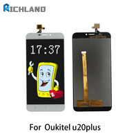 AAA Screen For Oukitel U20 Plus LCD Display Touch Screen Assembly With Digitizer Glass No Dead