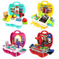 Tofoco Toy Gift! Platic Cookware Kits Toys Multi-function Kitchen Tools Toy Sets for Boys and Girls 4 Style Available