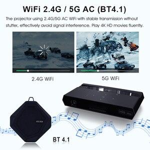 Image 5 - Smartldia H96 max Mini HD 4K العارض أندرويد 6.0 المزدوج 2.4G 5G واي فاي المنزل الذكي سينما proyector لعبة فيديو بلو توتر 4.1 متعاطي المخدرات