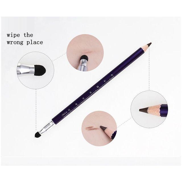 Microblading Brow Pencil Permanent Makeup Pencil Eyebrow Tattoo Line Design Positioning Eyebrow Waterproof Pencil Tattoo Tools 5