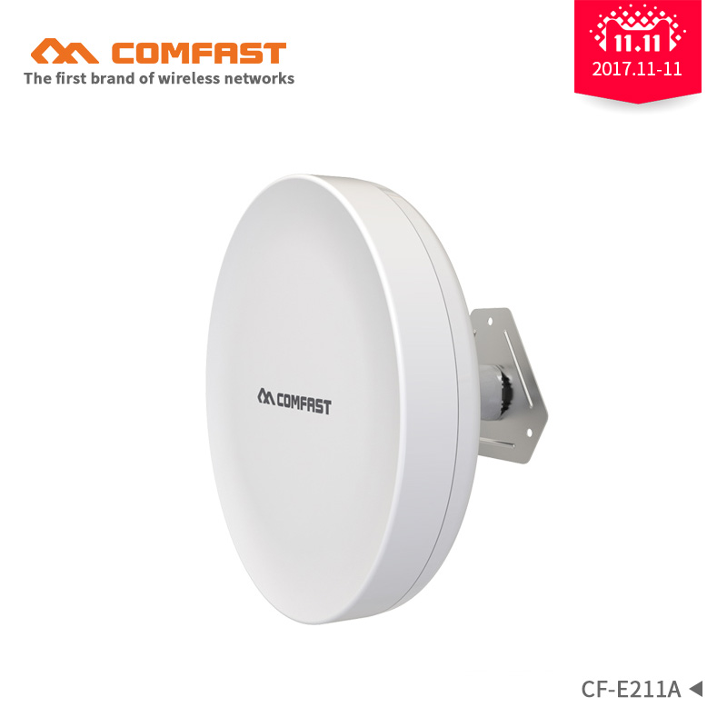 COMFAST 5.8G 300Mbps wireless transmission bridge CF-E211A WIFI extender repeater long range 1-2km CPE router nanstation antenna comfast original indoor ap wi fi repeater 1200mbps wireless n router 2 4 5 8g wifi repeater bridge long range extender booster