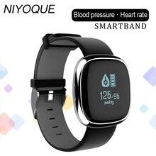 Niyoque Bluetooth Smart Браслет P2 фитнес-трекер крови Давление часы браслет здоровья connecte браслет Водонепроницаемый PK miband 2