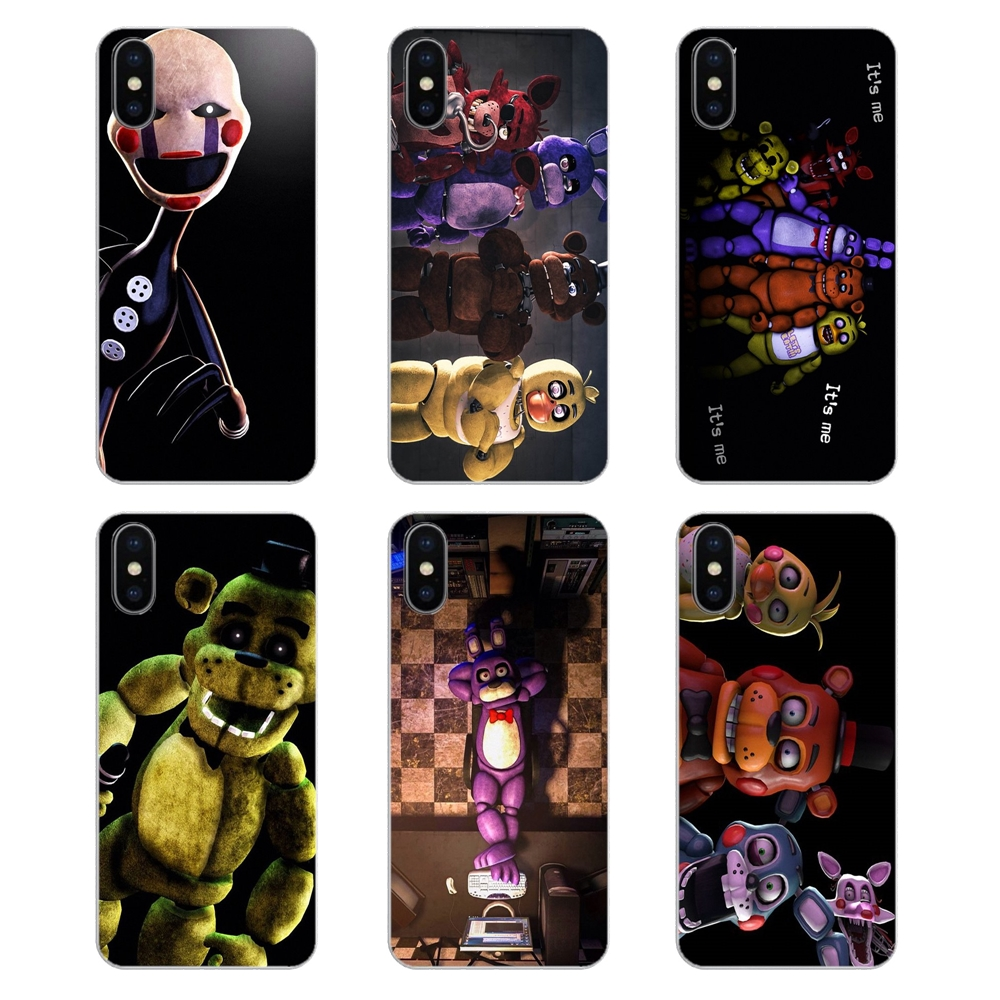 US $0 99 |sfm fnaf animatronics Anime Art For Xiaomi Redmi 4X S2 3S Note 3  4 5 6 6A Por Pocophone F1 Mi 6 Soft Transparent Cases Covers-in Fitted