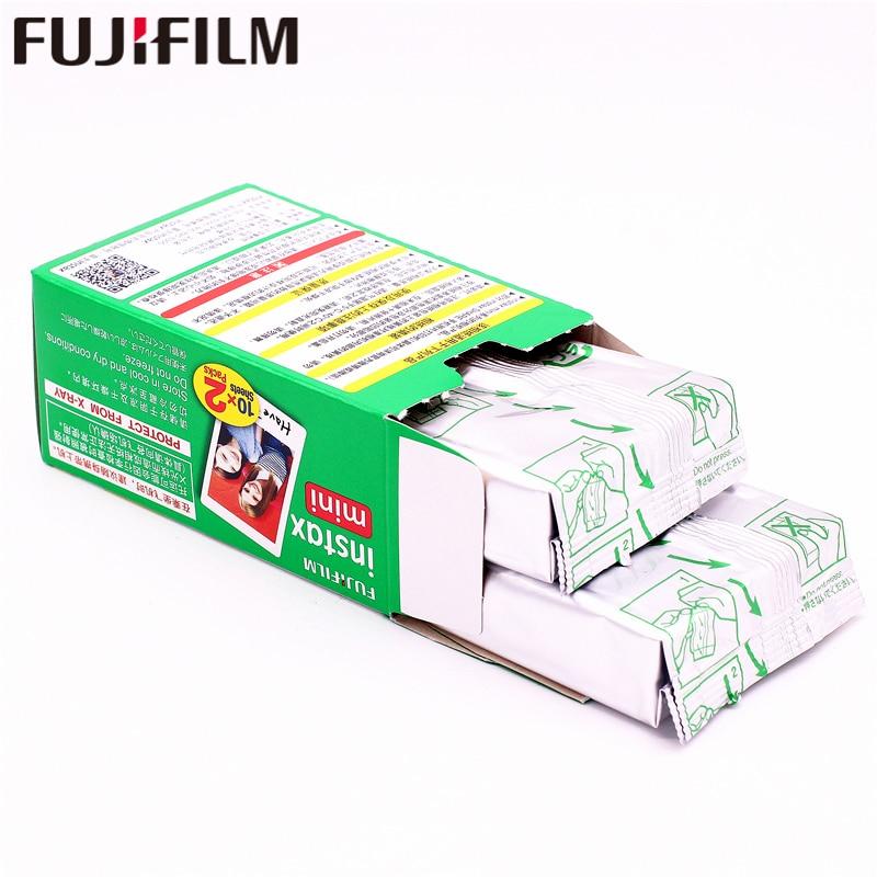Original 100 feuille Fuji Fujifilm Instax Mini 8 Film blanc papier Photo instantané pour 7 s 8 9 90 25 55 partager SP-1 SP-2 appareil Photo instantané - 6