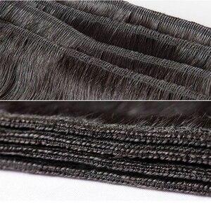 Image 5 - Gossip Deep Wave Bundles Deal Brazilian Hair Weave Bundles 100% Human Hair Weaves Non Remy Hair Extension 8 28 Bundles