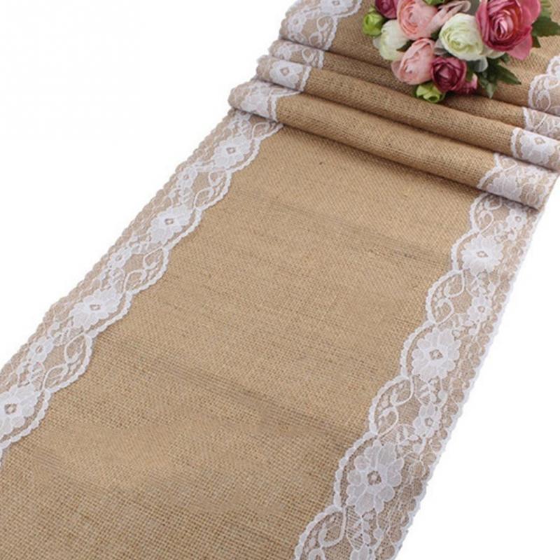 x cm elegante hilo de encaje de lino estera camino de mesa bordado mantel taza montaa mantel para la boda de navidad decor