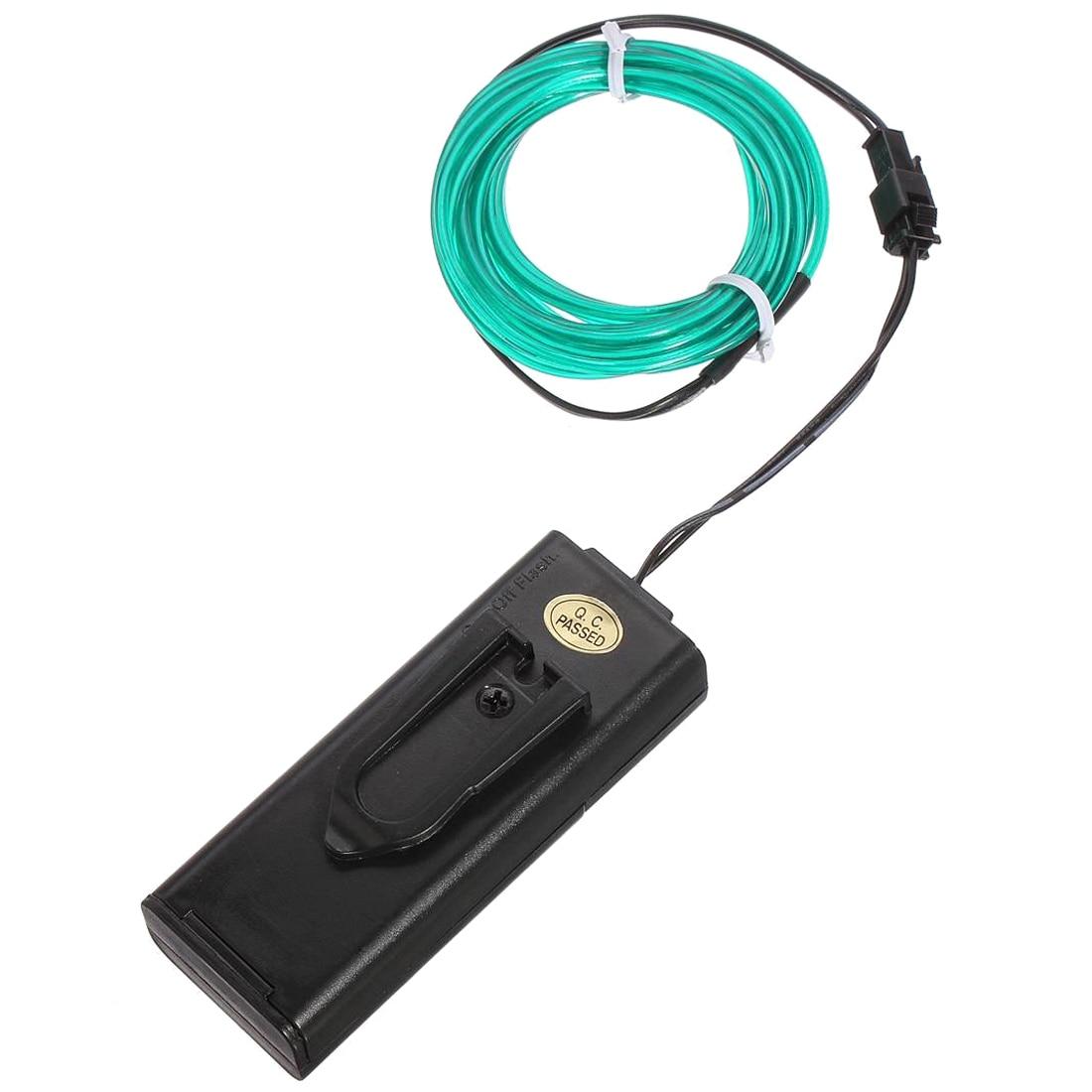 Neon EL Draht 5 Mt Kabel Girlande helle Elektrolumineszenz (EL Draht ...