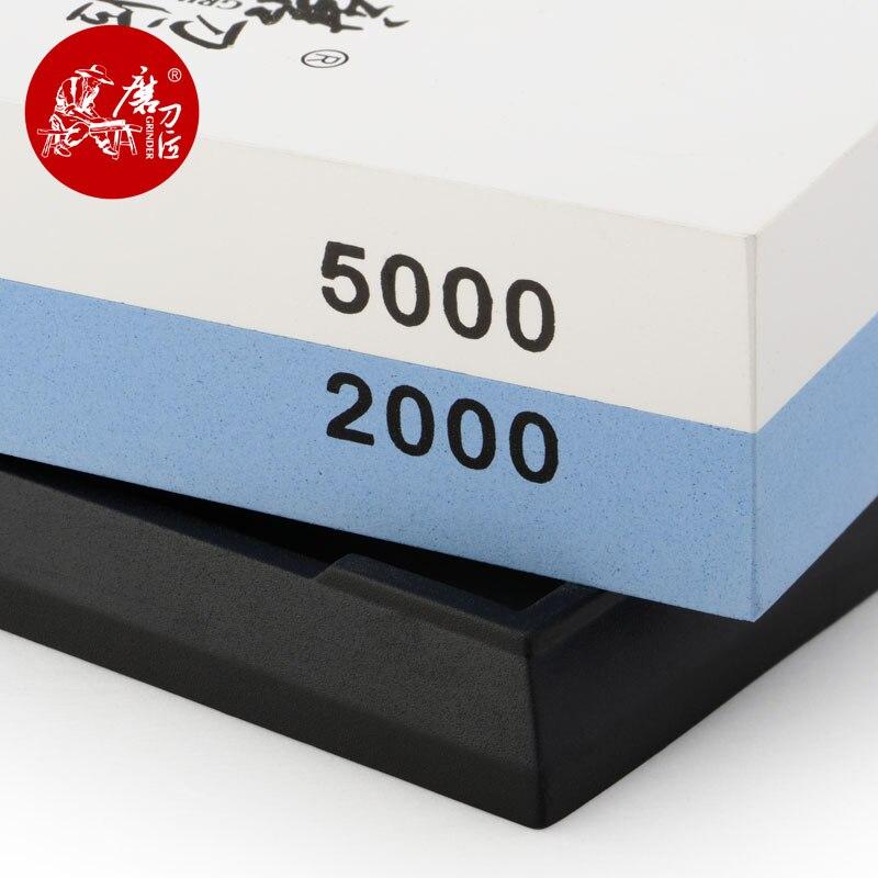TAIDEA T0930W cuchillo amoladora ángulo doble cara 2000/5000 Grit afilador de cuchillos profesional piedra de afilar