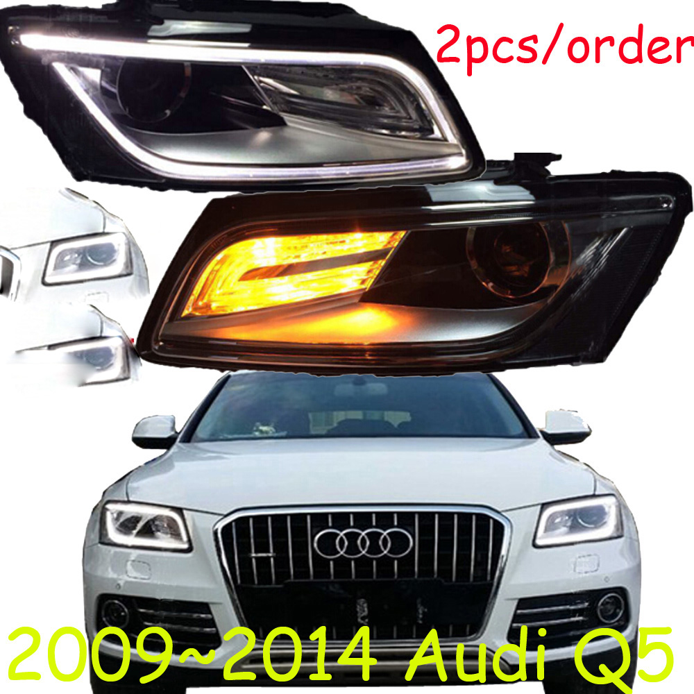 HID,2009~2014,Car Styling for Aude Q5 Headlights,canbus ballast,Q5 Fog lamp,A4,A5,A8,Q7,S3 S4 S5 S6 S7 S8,Q5 head lamp runbo q5