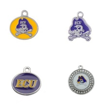 Buy college pendants and get free shipping on aliexpress 3 styles enamel college east carolina pirates pendant 10pcs mozeypictures Image collections