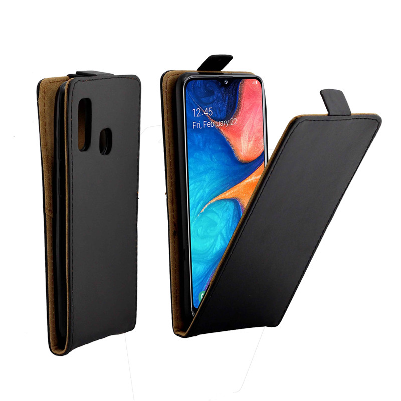 Business Leather Case For Samsung Galaxy A20e/A202 Cases