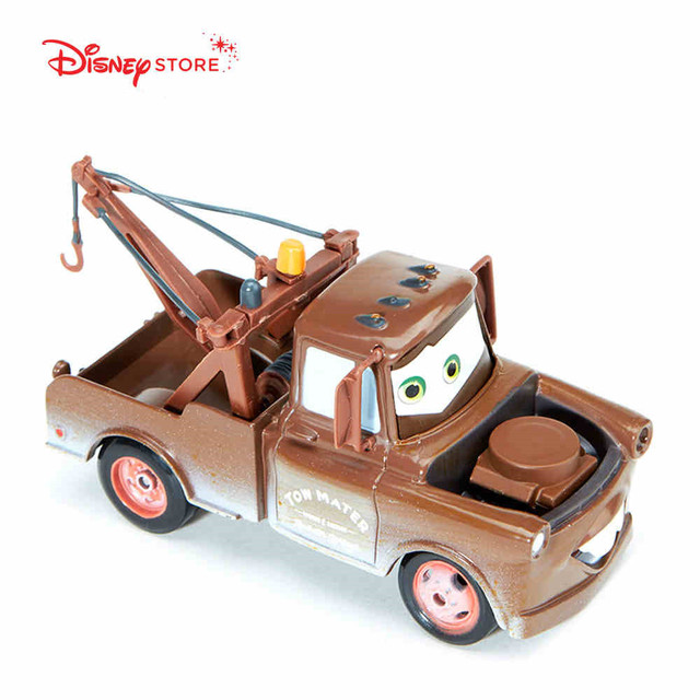 Disney Pixar Cars 1 55 Tow Mater Cast Metal Toy Car For Children Gift Loose New In Stock