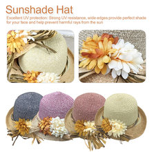 Good quality Summer hat women straw cap Ladies Big brim Sun  bohemian