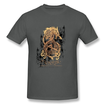 Vikings Berserk T Shirt Fashion 2019 Resilient Cotton 3XL Short Sleeve The Monster Wolf of Norse Mythology T Shirts 4