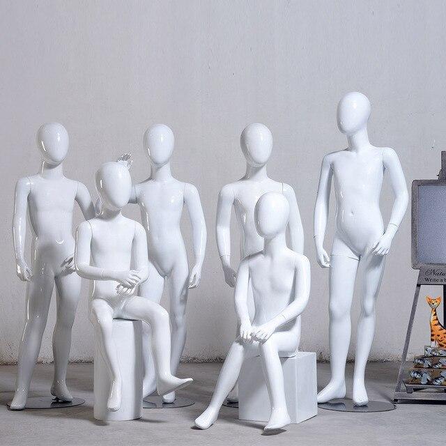 Factory Supply Child Mannequin, Full Body Children Fiberglass Mannequin,Kids Manikin, High Grade Model On Sale