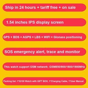 Image 2 - TWOX GPS akıllı saat Q750 Q100 gw200s akıllı bebek saati akıllı saat ile dokunmatik ekran SOS çağrı konumu cihaz Tracker Kid için güvenli PK q50
