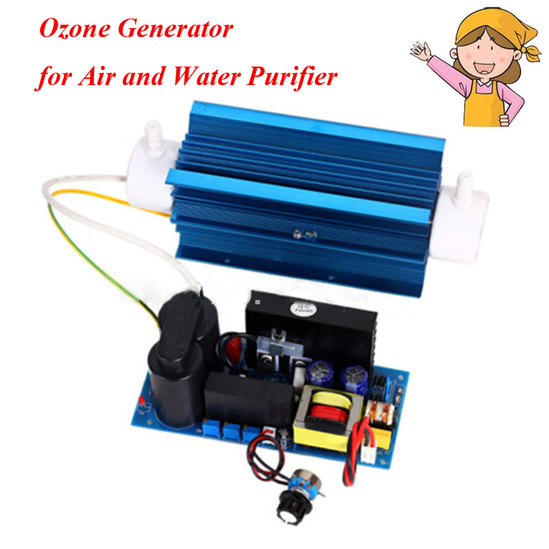 1pc Adjustable Quartz Ozone Tube 8g/h Ozone Generator for Air and Water Purifier USG TS-8GCKT