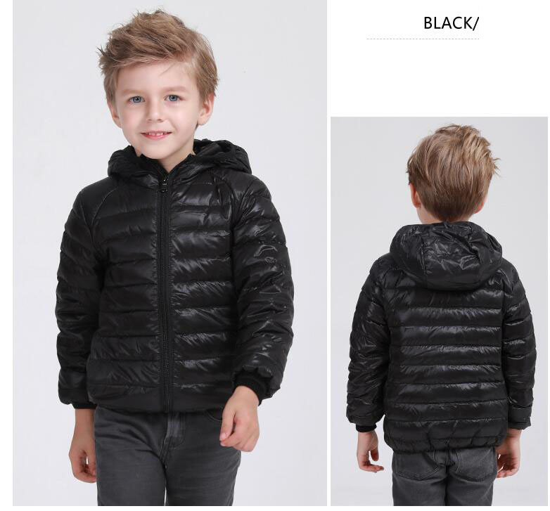 90% Down Ultra Light Kids Boys Girls Quilted Waterproof Duck Down Jacket Outwear Kids Winter Warm Snow Coat Warm Thin Clothes цены онлайн