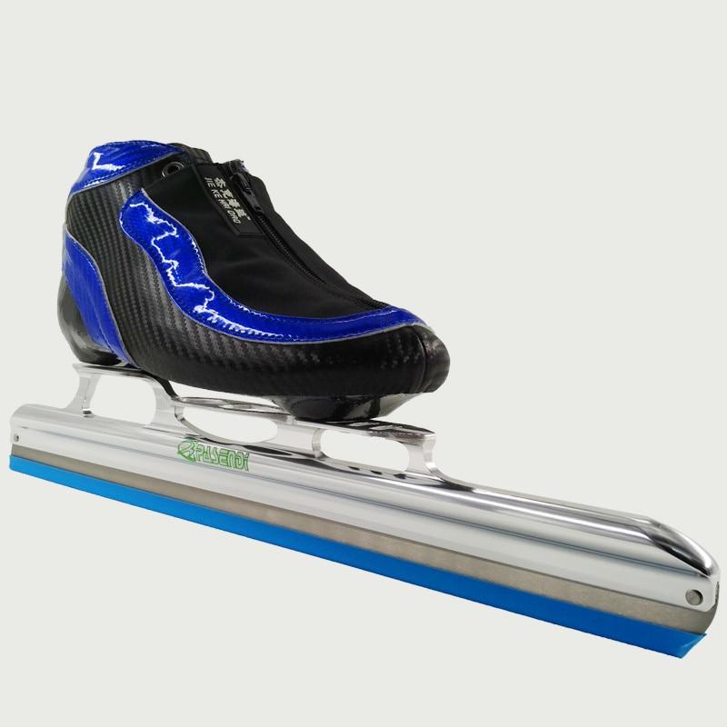 Prix pour JIE KE HAI DAO Professionnel Adultes glace lame vitesse du rouleau skate chaussures Femmes/hommes inline skate vitesse skate bottes enfants grand roues