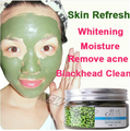 Face Care Skin Refresh  Mung Bean seaweed face mask shrink pore whitening moisturizing acne remove man women facial mask 110g