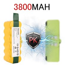 14.4V NI-MH 6000mAh Rechargeable Battery pack For iRobot Roomba 500 600 700 800 900 Series Vacuum Cleaner Yellow(China)
