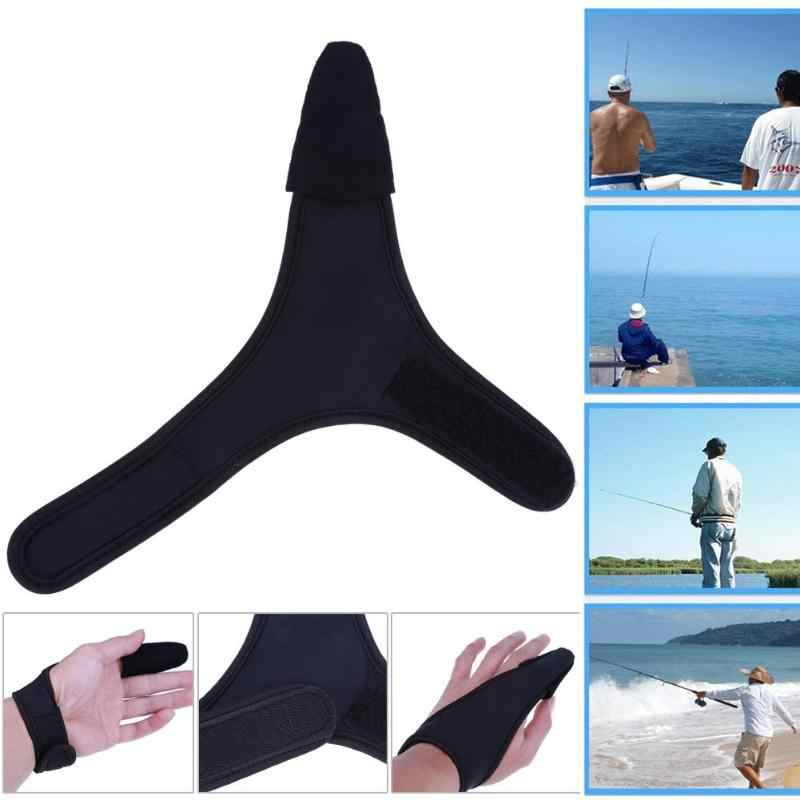 1 PCS fly protector Fish hunting tactical single finger anti slip Fishing Gloves cut waterproof rod wear Gloves Z50