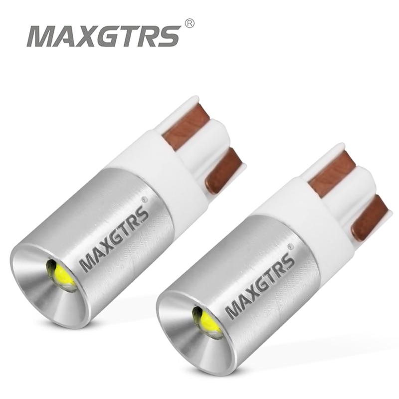 2x de alta potência cree chip t10 w5w 15 w 194 168 canbus nenhum erro led drl backup reverso dome lado luzes indicadoras