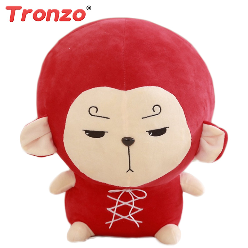 Tronzo 18/30cm Flower Travel Hwayugi Monkey Kawaii Pillow Goku Korean TV A Korean Odyssey Star Plush Toy Stuffed Cushion