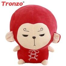 Tronzo-almohada de felpa de 30/50cm con forma de mono, almohada Kawaii de Goku, TV coreana, Estrella Odyssey coreana