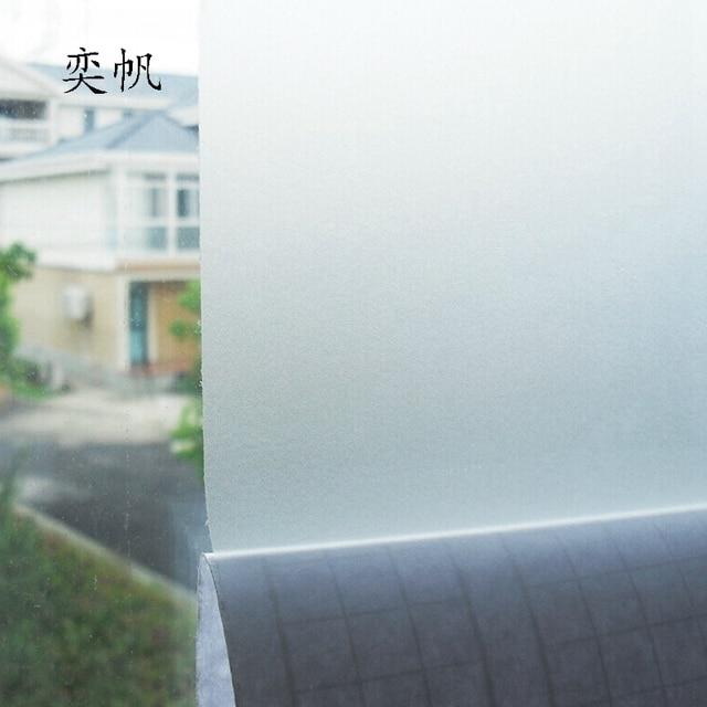 45*100 cm pvc givré opaque en verre fenêtre film décoratif pour ... - Fenetre Salle De Bain Pvc
