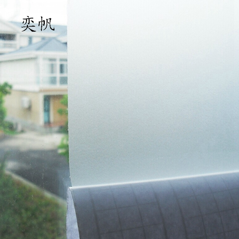 45 100cm pvc frosted opaque glass window decorative film for Stickers pared baratos