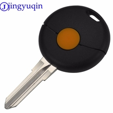 Jingyuqin 5 st 1 Knop Afstandsbediening Autosleutel Shell Voor Benz Smart Fortwo Cabrio Stad Crossblade 1998-2012 Ongesneden Blade Fob Case Cover(China)