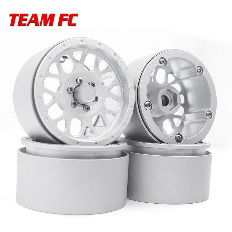 4PCS/1pcs Free shipping hot sale <font><b>RC</b></font> <font><b>Crawler</b></font> 1:10 <font><b>2.2</b></font> XD820 Wheels Metals Non-stick Locking Wheel Hubs S132 image
