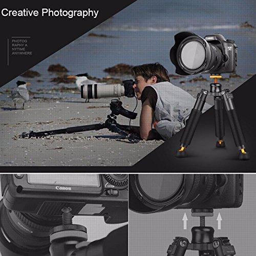 Moveski Q178 qingzhuangshidai Tabela mini Tripod 245 mm Kamera - Kamera dhe foto - Foto 6