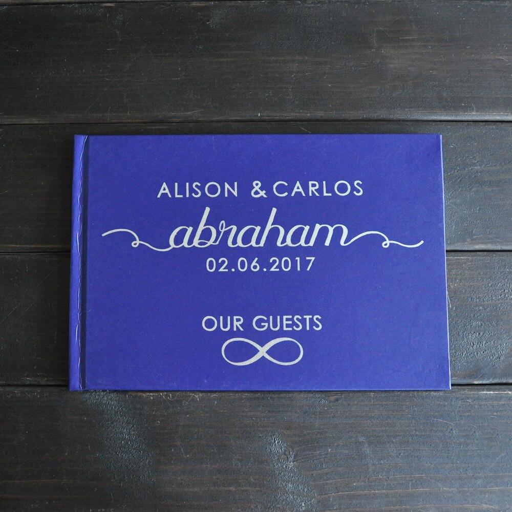 Personalisierte Hochzeit Journal Einzigartige Hochzeit Gästebuch ...