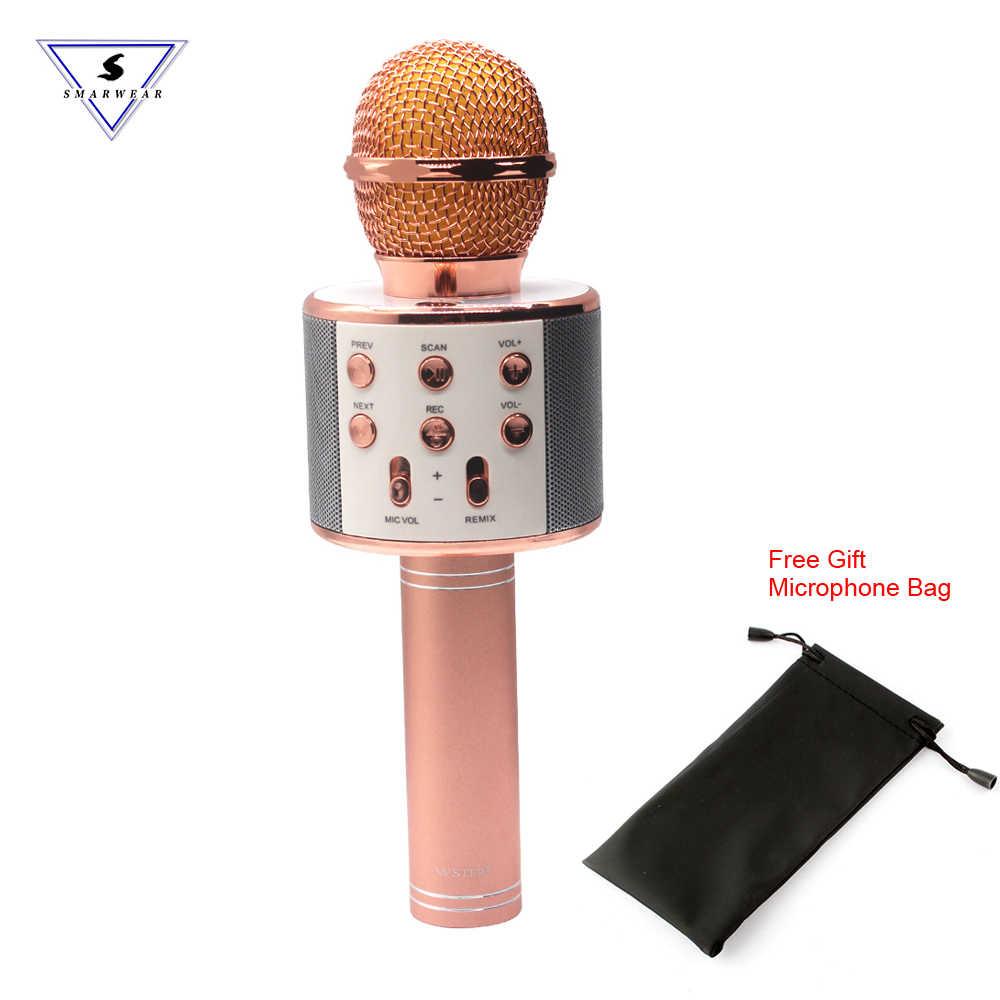 Detail Feedback Questions about Original WS 858 karaoke microphone