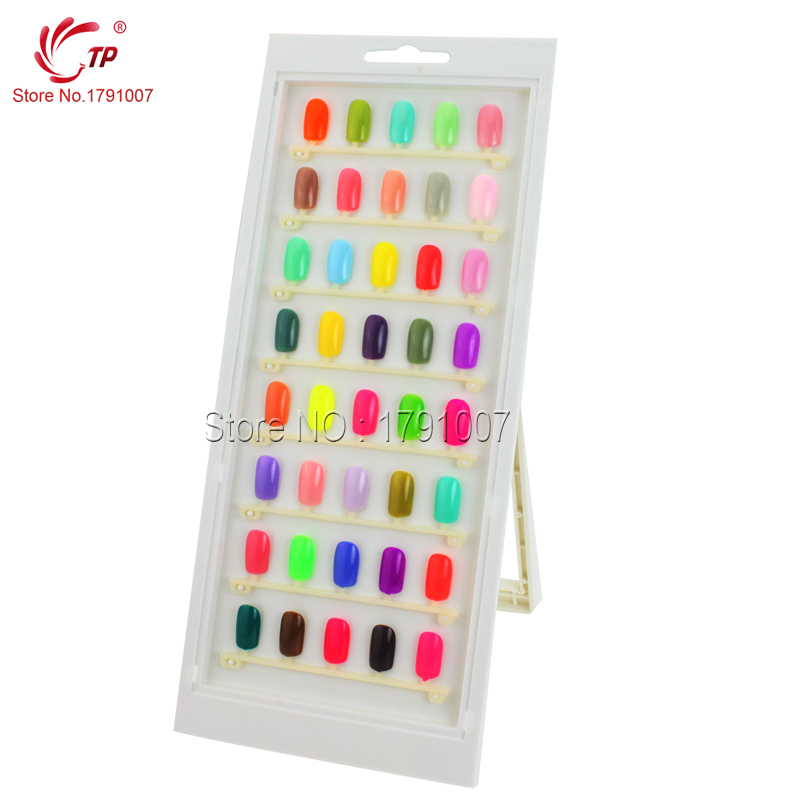 Beauty nail salon accessory 40pcs nail tips book for nails art beauty nail salon accessory 40pcs nail tips book for nails art display gel polish color card nail color chart manicure tools in nail art equipment from prinsesfo Images