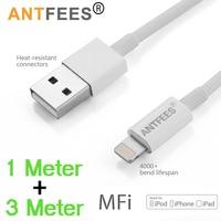 MFI Zertifiziert 2,4 EINE 1m/3m 8Pin USB Ladegerät Daten Sync Adapter Kabel Draht Für iPhone 8 7 6s Plus 5 5s Für iPad Schnelle Ladekabel
