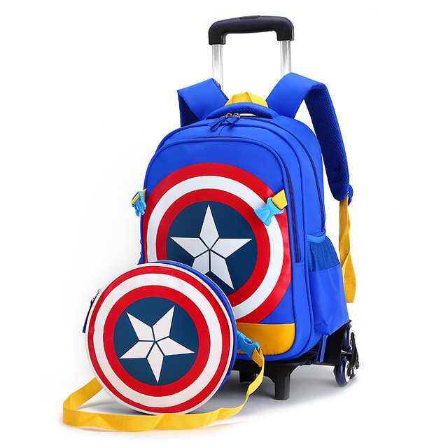 Rolling school backpacks girls and boys trolley bags school bag wheels backpack schoolbag teenage girl bookbag mochila bolsos