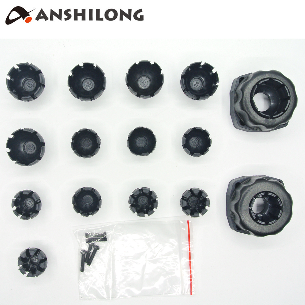 ANSHILONG Universal Ball Connector Bracket Holder for Car Interior Rearview Mirror