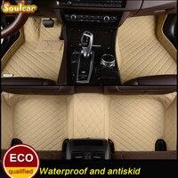 Custom fit Car floor mats 2008 2017 for AUDI A8 A8L S8 D2 D3 D4 car floor foot carpet liners mats accessories